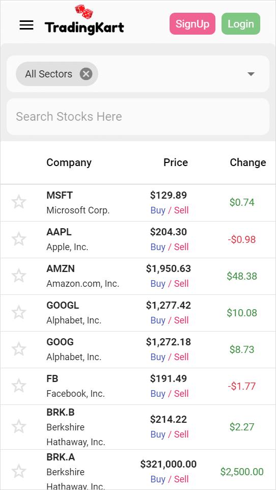 stock research tradingkart